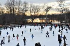 prospect park ice rink - I first went ice skating at the old ice rink. Can't wait to visit NY again to ice skate in the new rink. ~EH