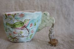 This item is sold, but I will buy some pottery from Julie Whitmore some day!