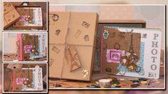 """Делаем Фото Альбом - """" ПАРИЖ"""" из картона который мы обычно не храним.... Все сделано своими руками... Такой альбом может быть отличным подарком...  Смотрим МК. https://www.youtube.com/watch?v=LzeQbAphwr0"""