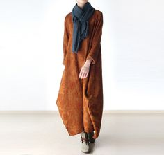 """Orange Jacquard Gown Dress,Holiday Trip,Winered Women Caftan ,Plus Size Clothing Bust>114cm/44"""""""
