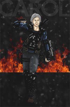 The Warrior Queen  Carol Peletier The Walking Dead