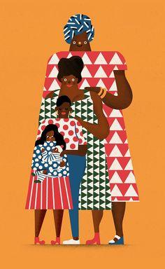 Personal Illustration 2015 summer on Behance