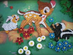 Quilling - Pictures about cartoon: Made by Roxana Linte