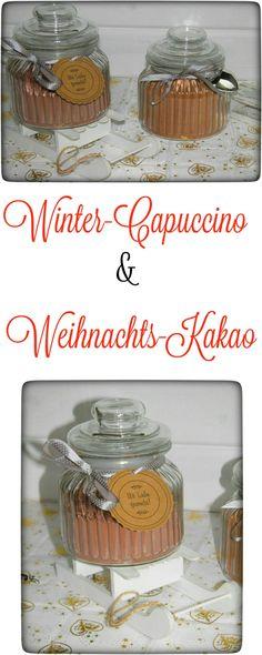 Winter-Capuccino & Weihnachts-Kakao aus dem Thermomix. Schnell zubereitet und ein tolles Geschenk.  (scheduled via http://www.tailwindapp.com?utm_source=pinterest&utm_medium=twpin&utm_content=post118319961&utm_campaign=scheduler_attribution)