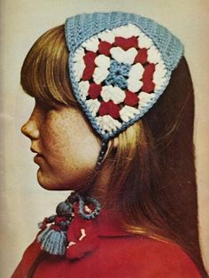 Tyrolean knitted (crocheted?) hat - like Anna from Frozen - could get my Mum or Sister to make one for me!
