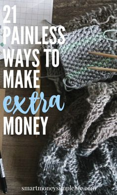 Making a little extra money can result in a lot of peace of mind. Start a side hustle today to help you pay off debt, afford a few luxuries or even retire early. http://smartmoneysimplelife.com