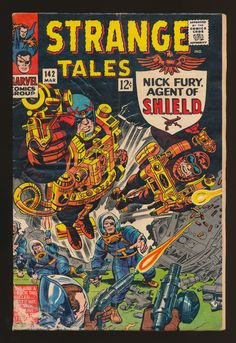 Strange Tales #142, March 1966, Nick Fury, Agent of SHIELD, Art: Jack Kirby