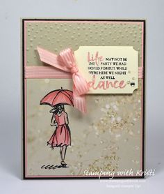 Stampin Up Beautiful You card by Kristi @ http://www.stampingwithkristi.com