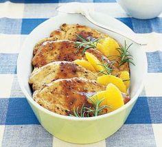 , orange & rosemary sauce | 4 boneless skinless chicken breasts ...