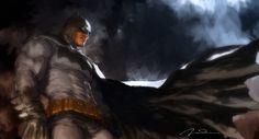 badass-batman-and-bizarro-art-by-gerald-parel