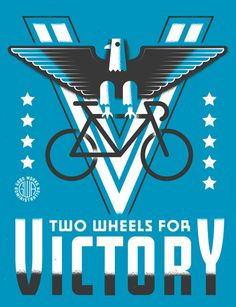 Dan Cassaro, Two wheels for Victory! And more great stuff.