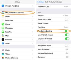 "Enable ""Ask Before Deleting"" in Mail for iOS for peace of mind #ios #apple"