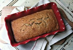 Zucchini Applesauce Bread // A Cedar Spoon