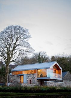 Reconstruction of barn. North Ireland.