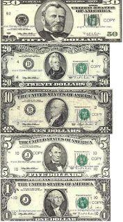 Printable Fake Money: Free Printable Fake Money Template