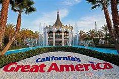 Santa Clara, CA: California's Great America them park.