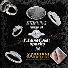 Ring simply marks a milestone in our lives; be it a wedding, an engagement or first motherly experience. Shop from exclusive collection of diamond sparks by sogani jewellers. #Sogani_Jewellers  C-19, Vaishali Marg, Vaishali Nagar Jaipur. Call- +919799809156, 0141-4024656. #Shop_Online www.soganijewellers4u.com