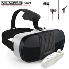 343b39073b8b Aliexpress.com   Buy Baofeng Mojing III Plus Edition Virtual Reality  Headset 3D Glasses Google Cardboard + Gampead 5.0 + G1 Earphone Private  Theater from ...