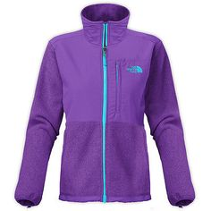 North Face Denali Womens ANLP-CGF Hero Purple Fleece Zip Jacket Wmns Size L