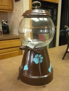 Faux Gumball Machine designed for dog by CountryGooseBoutique, $20.00