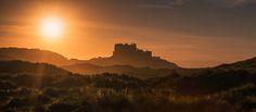 Bamburgh castle at sunset. - Editor's Choice Colour
