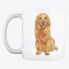 Discover Golden Retriever Mug, a custom product made just for you by Teespring. - This Golden Retriever coffee mug design is. Coffee Lovers, Coffee Mugs, Unique Image, Mug Designs, Dog Friends, Your Dog, Colors, Gifts, Presents