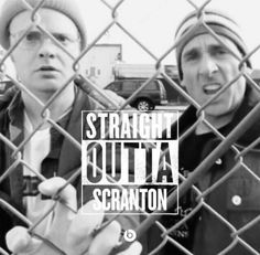 Straight Outta Scranton (The Office) Dwight and Michael Scott Office Quotes, Office Humor, Quotes From The Office, Michael Scott, Dundee, Threat Level Midnight, Office Tv, The Office Quiz, Spider Man