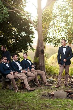 Groomsmen Attire For Perfect Look On Wedding Day ❤ See more: http://www.weddingforward.com/groomsmen-attire/ #weddingforward #bride #bridal #wedding