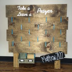 DIY prayer board!!!                                                                                                                                                                                 More