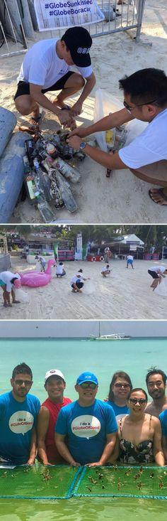 Globe Telecom spearheaded the Boracay beach clean-up and coral planting after the labor day LaBoracay island party --- https://pekson.tumblr.com/post/160262969937/globe-telecom-spearheads-3-day-beach-clean-up