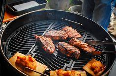 kurz vor der #Wende - #Fleisch auf dem #Grill