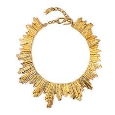 YSL Vintage Sun Necklace ❤ liked on Polyvore