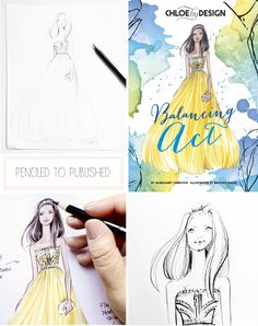 Fabulous Doodles Fashion Illustration blog by Brooke Hagel: Illustrated Book Covers: Chloe by Design Volume 2