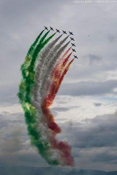 Frecce Tricolori Bandiera