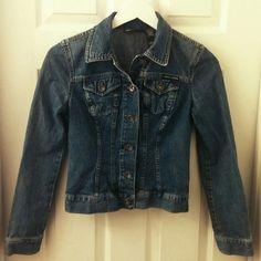 DKNY Jean Jacket Soft- Denim- Form Fitting DKNY Jackets & Coats Jean Jackets