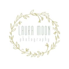 Custom Premade Photography Logo - Whimsical and Classy