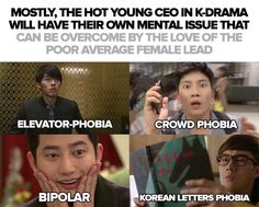 Hahaha, you just gotta love #Kdrama! I've watched all 4 of these CEO and I loved all of these hot sweet funny chaebols!! Joo Joong Won is definitely my absolute favorite with his sweet Tae Yang! They were so cute in #MastersSun