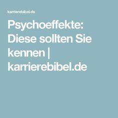 Psychoeffekte: Diese sollten Sie kennen | karrierebibel.de