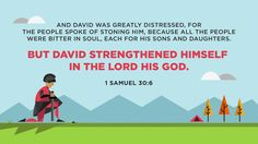 Well,I don't think anyone has thought of stoning me . . . but I do find my strength in the LORD! Verse of the Day from Logos.com