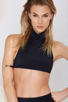 Nasty Gal Wave Down Bikini Top - Mix + Match