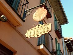 One of the pilgrim hostels on the Camino de Santiago de Compostela