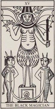 XV. The Devil - Rolla Nordic by Murielle Berulfsen (née Baker)