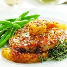 Thyme, Pork Chop & Pineapple Skillet Supper - EatingWell.com