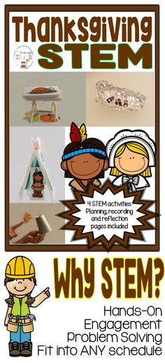 Are you looking for a fun way to keep your students engaged and learning during the beginning of the holiday season. This is the perfect packet for you! Your students will be super excited to work together to construct different elements associated with the holiday to help build STEM skills and also reviewing Thanksgiving content at the same time!  - Build a Mayflower to get the Pilgrims to the New World - Construct a Native American home to keep them safe from the weather elements - Build a…