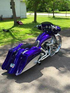 harley davidson street glide parts Motorcycle Cover, Blue Motorcycle, Bagger Motorcycle, Motorcycle Garage, Custom Motorcycle Paint Jobs, Custom Sport Bikes, Harley Bagger, Harley Bikes, Harley Gear