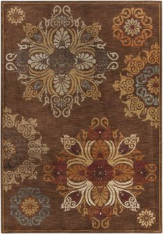 Surya Arabesque ABS-3002 Gold Area Rug