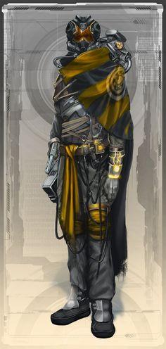 Stranger EotV Character by Keleus.deviantart.com on @DeviantArt