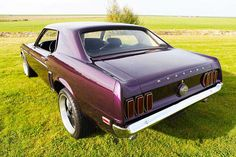 Ford Mustang coupe L-code 6L 1969 – CCC