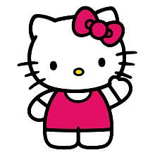 Roommates The World of Hello Kitty Peel & Stick Giant Wall Decals