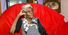 Vinho é o segredo para longevidade, afirma idosa de 112 anos em Américo
